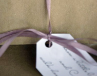 Eco-friendly Christmas wrapping